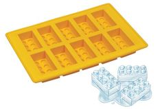 "Serve the coolest drinks around with ice that looks like LEGO bricks, or build your own LEGO ice ""sculpture!""."