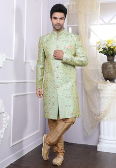 Ethnic Wholesale - Wholesale Clothing Supplier From India Wedding Dress Men, Wedding Wear, Wedding Attire, Boys Kurta Design, Indian Men Fashion, Men's Fashion, Western Suits, Wedding Sherwani, Punjabi Dress