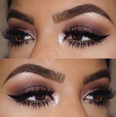 Eye Makeup Tips.Smokey Eye Makeup Tips - For a Catchy and Impressive Look Makeup Goals, Makeup Tips, Beauty Makeup, Hair Makeup, Huda Beauty, Makeup Ideas, Makeup Tutorials, Makeup Style, Makeup Inspo