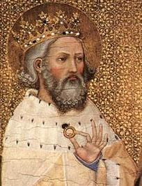 Edward the Confessor was the second-last Anglo-Saxon king of England, ruling from 1042 until 1066. It was confusion, disagreement, and treachery over who his successor should be that led to the Norman Conquest. The two rivals for the throne were Harold (the last Anglo-Saxon king) and William of Normandy, whose army killed Harold in the Battle of Hastings.