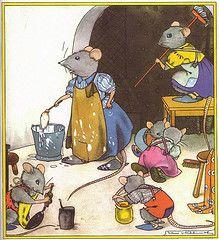 Nans van Leeuwen Sweet Memories, Childhood Memories, Old Pictures, Cute Pictures, Mouse Illustration, Pet Mice, Vintage Postcards, Cute Drawings, Nursery Art