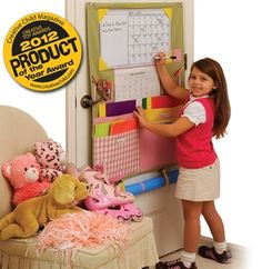 Keep your kids organized with the Homework Caddy.