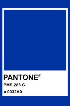 7 Best Pantone 286 images   Pantone 286. Pantone. Blue