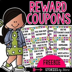 Classroom Reward Coupons - Subject Classroom Management, Back to School / Grade Levels: / Resource Type: Fun Stuff, Printables Classroom Reward Coupons, Classroom Behavior, School Classroom, Classroom Ideas, Classroom Incentives, Classroom Economy, Primary Classroom, Classroom Helpers, Seasonal Classrooms