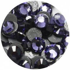 Swarovski Tanzanite Color Hot-Fix Crystals Embroidery Materials, Craft Materials, Swarovski, Crystals, Hot, Crafts, Color, Fashion, Moda