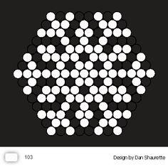 Small hexagon pinboard