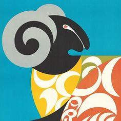 Zodiac Poster (1969) via OrangeYouLucky.blogspot.com