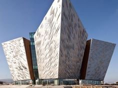 A tribute to the Titanic in Ireland (where she was built in great part)