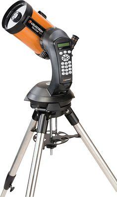 Celestron - NexStar 5 SE Schmidt-Cassegrain Computerized Telescope - Orange, 11036