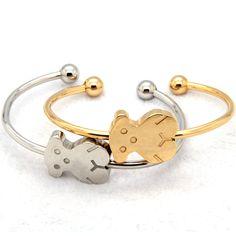 Nuovo caldo 2014 Orso gioielli, qualità orso bello braccialetti dei braccialetti marchio Love New elevato per le donne della ragazza