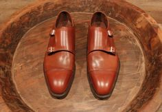 The one that got away, the Double Monk Straps by Sid Mashburn, was the unicorn that I seeked out and encountered. In Atlanta. I will return for you, one day. Double Monk Strap Shoes, Master Class, Oxford Shoes, Dress Shoes, Pairs, Mens Fashion, My Style, Brown, How To Wear