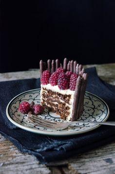 ... espresso choc ripple cake ...