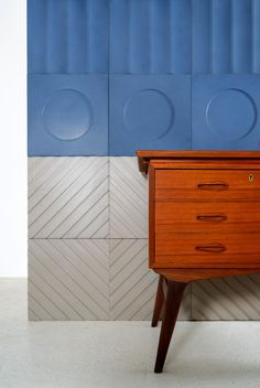 KAZA Concrete Releases a Bauhaus-Inspired Tile Collection by Aimee Munro - Design Milk French Country Interiors, Country Interior Design, Interior Design Inspiration, Mosaic Wallpaper, Rustic French, Mid Century Furniture, Tile Design, Portfolio Design, Concrete