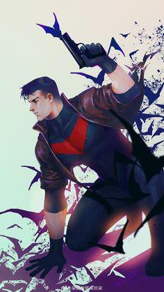 Red Hood Jason Todd, Futuristic Armour, Bat Family, Dark Knight, Rey, Marvel Dc, Comic Art, Dc Comics, Robin