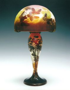 Émile Gallé lovely lamp