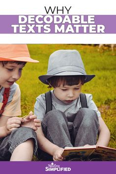 Let's investigate why decodable texts matter for early readers and why they have such a huge impact when it comes to developing strong sound-based decoding skills. Reading Aloud, Read Aloud Books, Early Reading, Reading Fluency, Reading Intervention, Reading Skills, Teaching Reading, Decoding Strategies, Reading Difficulties