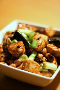 Gong Bao Ji Ding (Kung Pao Chicken and Peanuts)