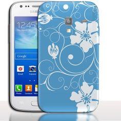 Coque Samsung Galaxy ACE 2 Fleurs Hawaï. #Hawaï #i8160 #Fleur #coquedetelephone