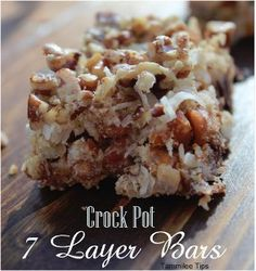 Slow Cooker Seven Layer Magic Cookie Bars