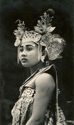 Djanger princess, Bali, Indonesia