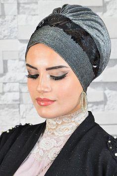 Hijab Bride, Pakistani Wedding Dresses, Pashmina Hijab Tutorial, Hair Bonnet, Turban Hijab, Muslim Brides, Denim Ideas, Nigerian Weddings, Turban Style