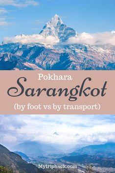 Pokhara to Sarangkot - how to reach