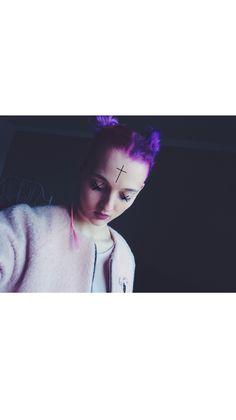 #girl #pinkhair #purplehair #pink #unicorn #purple #hair #hairstyle #duskins