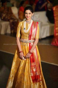 Half Saree Lehenga, Lehenga Saree Design, Lehnga Dress, Saree Look, Lehenga Designs, Kids Lehenga, Anarkali, Gown Dress Party Wear, Long Gown Dress