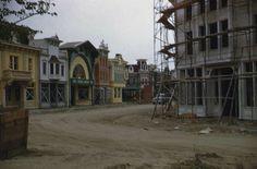 Main Street, Disneyland, March 1955