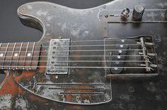 James Trussart Custom Guitars - Rust O Matic SteelCaster
