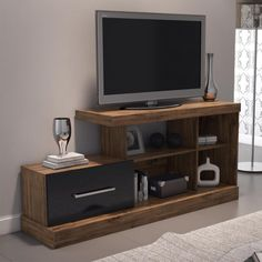 Tv Stand Furniture, Tv Unit Furniture, Diy Furniture Plans, Pallet Furniture, Home Furniture, Furniture Design, Modern Tv Unit Designs, Tv Stand Designs, Tv Unit Decor