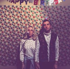 butcher with a smile. lol why are tyler and jenna such weirdos