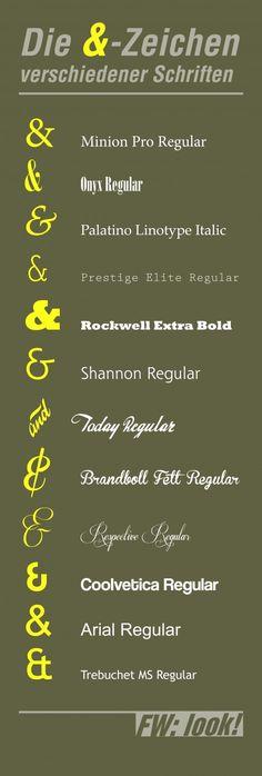 'Ne kleine Typografie-Grafik von mir auf fwlook.de!