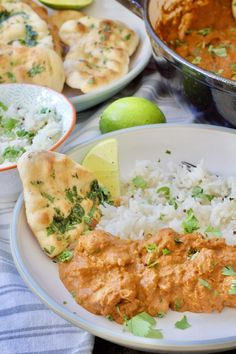 Quick, fragrant and delicious this Easy Butter Chicken Curry ticks all the boxes. You really don't need take away to enjoy this Indian cuisine favourite. Butter Chicken Curry, Best Curry, Lentil Curry, Fresh Coriander, Dessert For Dinner, Curry Recipes, Food For Thought, A Food, Food Processor Recipes