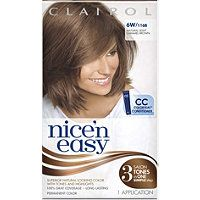 Clairol - Nice 'N Easy Permanent Hair Color in Natural Light Caramel Brown #ultabeauty