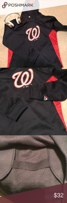 Washington Nationals Child's  Navy sweatshirt EUC. No tears or stains. Beautiful condition. Child's 10-12 Majestic Shirts & Tops Sweatshirts & Hoodies