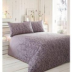 RJR.John Rocha - Purple floral 'Violet' bedding set