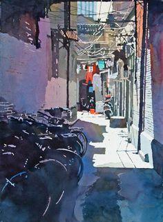 Art Of Watercolor: Mark Mehaffey. Interview