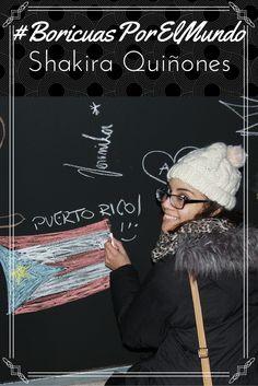 #BoricuasPorElMundo: Eslovenia: Shakira Quiñones Lebrón