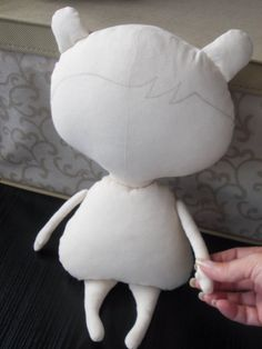 Blank doll BODY-suitable for Santa Claus doll by MadeByMiculinko