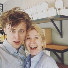 "16k Likes, 442 Comments - Siv Svendsen (@sivs13) on Instagram: ""Look who I got a selfie with today!!! #skamfans #evak #alterlove #even #skam ##henkeholm"""