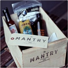 A monthly Mantry subscription makes sure that your man is eating right throughout the month by stocking him up with high-quality foods that guys will appreciate. If you know he is somewhat challenged by the task of keeping his cupboards stocked with good food, this is the gift to give.