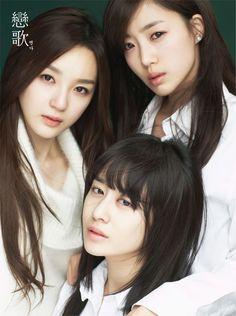 T-ara  #Tara  #Jiyeon  #Eunjung