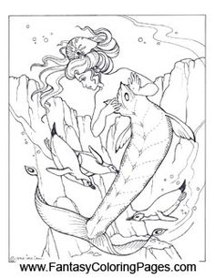 free coloring pages of mermaids.html