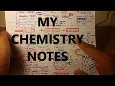 My Chemistry Notes - A Level   GCSE