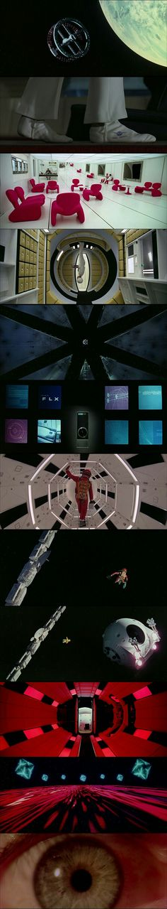 Visually stunning Production Design,Art Direction,Cinematography of 2001:A Space Odyssey(1968)