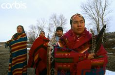 Blackfoot Indian Woman   Okan women, the highest spiritual women in the Blackfeet Indian tribe ...