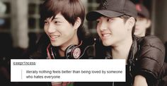 Quotes from tumblr | KAISOO ~ someday, I'm telling you, someday my heart will explode with Kaisoo feelings
