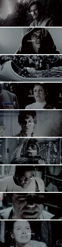 Some people are just born with tragedy in their blood. That's star wars Star Wars Love, Star War 3, Star Wars Art, Star Trek, Star Wars Quotes, Star Wars Humor, Saga, Venus, Star Wars Personajes