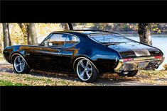 Be a part of the world's greatest classic car auction. Custom Muscle Cars, Best Muscle Cars, Dragster Car, 1969 Oldsmobile Cutlass, Old School Cars, Car Pictures, Car Pics, Pontiac Firebird, Hot Cars